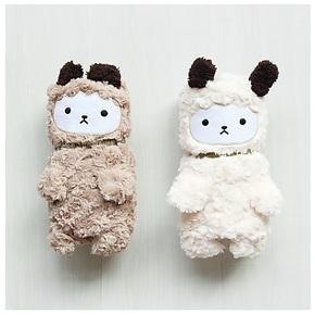 配角小物羊羔绒珊瑚绒可爱的小绵羊小毛毯子暖身毯空调毯懒人毯