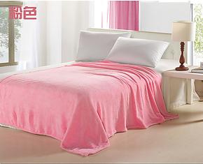 珊瑚绒毯床品双人法莱绒毛毯子 舒棉绒床单人休闲毯 毛毯