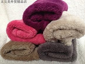 特价外贸长毛舒棉绒小毛毯小盖毯宠物毯沙发扶手毯枕巾毯50*70