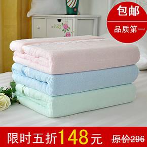 比纯棉好!竹纤维毛巾被/夏季单人毛巾毯子 毛毯双人休闲毯子儿童