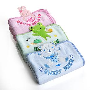 正品春夏竹纤维浴巾 卡通儿童毛巾被 宝宝盖毯 婴儿毛毯 空调毯