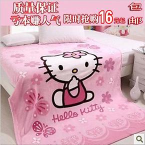 特价小毛毯 午睡毯 珊瑚绒毯 出口婴儿毯 夏凉毯 毛毯 儿童毯子