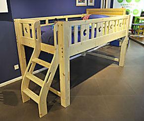 特价松木儿童组合床 实木学生床单人床少年床 高低床套房家具