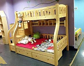 [包物流]高低床实木上下铺床母子床字母双人床双层儿童床特价