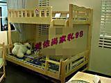 儿童双层床/实木子母床/上下床/小孩床/高低床/实木木家具