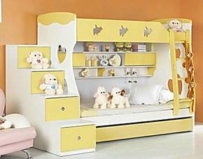 儿童彩色 非实木 1米高低床 双层床 子母床 多喜爱你 特价包邮