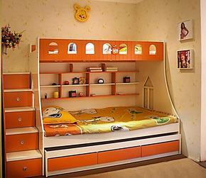未来之窗儿童色彩家具 高低床 双层床 上下床 儿童床 男孩女孩床