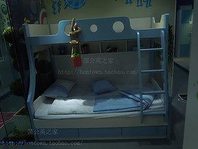 蒲公英家具6143上下床 未来之窗品牌儿童高低床 子母三层床双层床