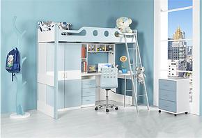 未来之窗儿童套房单身套房子母床柜组合体幼儿床儿童床高低床