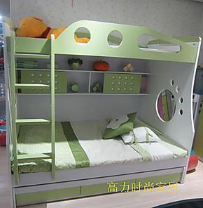 未来之窗 时尚儿童家具 高低床 双层 上下床  特价 子母床