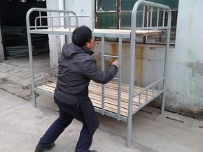 厂家直销床,上下床,高低床,双层铁架床,学生床,工人床,学校用床
