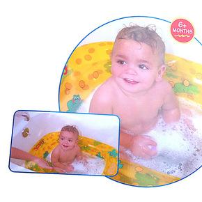 俊俏儿童宝宝洗澡必备婴儿充气洗澡盆浴缸婴儿浴缸俊俏利鑫 RB38