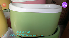 特价压克力亚克力独立彩色保温小浴缸小圆一米宽60高62