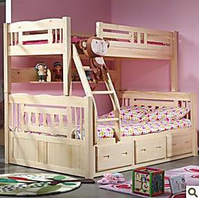 实木儿童床松木上下床高低床子母床单人双人床可木质特价江苏千意
