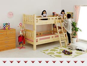 儿童床实木上下床 双层床 高低床母子床环保上下床上下铺ET-0257