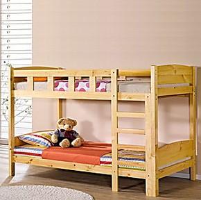 新款实木松木儿童床上下铺高低床上下床双层床母子床高低子母床