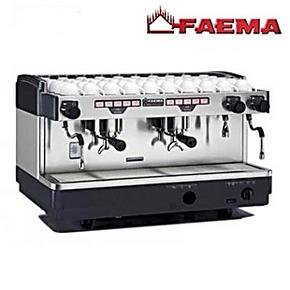 意大利进口FAEMA E98飞马咖啡机 A2电控 双头商用半自动咖啡机