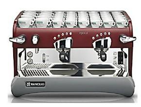 Rancilio Epoca E2兰奇里奥电控双头半自动咖啡机 商用意式咖啡机