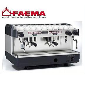 原装意大利FAEMA飞马E98 双头手控专业半自动咖啡机商用手控 单机