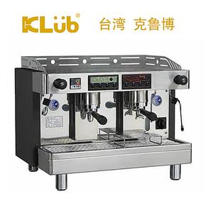 klub克鲁博 LT2 商用意式双孔鲜茶半自动咖啡机