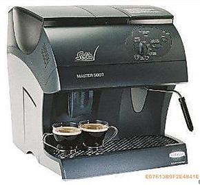 诚意咖啡 瑞士原装SOLIS索利斯 MASTER 5000黑全自动咖啡机