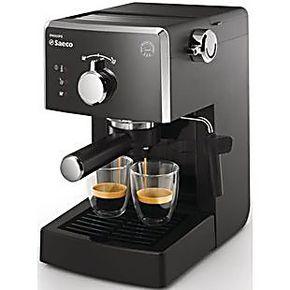 Philips/飞利浦 HD8323家用半自动咖啡机 意式咖啡机 优质不锈钢
