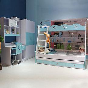 儿童床 儿童家具 双层床 组合床 高低床子母床组合床 双胞胎床 07