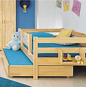 包邮实木床儿童床子母床高低床母子床松木多功能木质