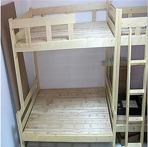 松木儿童床高低床母子床子母床双层床上下实木床职工床1米寝室床