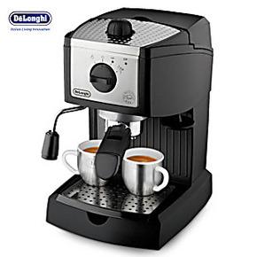 泵压意式特浓咖啡机 德龙EC155半自动咖啡机 家用咖啡机 正品