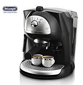 Delonghi/德龙 EC410 德龙半自动咖啡机 泵压式蒸汽咖啡机 联保