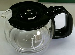 伊莱克斯4杯滴漏式咖啡机 EGCM200  原配件玻璃壶!!!