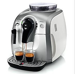飞利浦(Philips)HD8745 Saeco意式自动浓缩咖啡机(白色)包邮