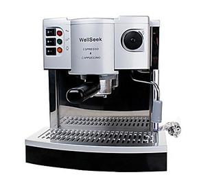 特价不锈钢款 泵压式特浓蒸汽咖啡机 咖啡壶 打奶泡 卡布奇诺咖啡