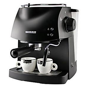 家用意式蒸汽咖啡机 咖啡壶 泵压式咖啡粉饼两用机 打奶泡 15帕