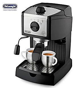 Delonghi/德龙 EC155 家用泵压式浓缩半自动咖啡机