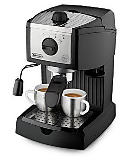 新到货 Delonghi/德龙 EC155 家用泵压式半自动咖啡机 全国联保