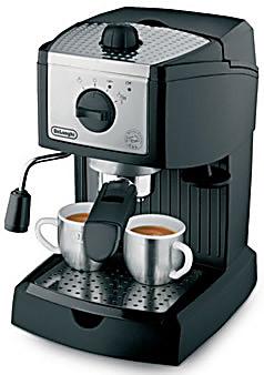 Delonghi/德龙 EC155 意式家用咖啡机 泵压式咖啡机 全国2年联保