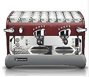 兰奇里奥咖啡机espresso咖啡机 双头电控咖啡机 专业半自动咖啡机