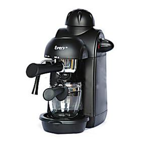 Every/艾薇 咖啡机 家用 意式 蒸汽煮咖啡壶全自动打奶泡 5帕压力