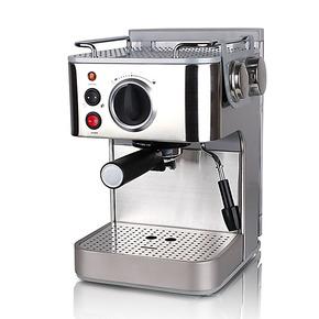 gater CM1819 半自动不锈钢咖啡机 蒸汽压力咖啡机家用 包邮