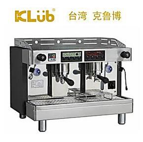 原装进口klub克鲁博 LT2 双孔鲜茶半自动咖啡机 茶咖两用机 商用