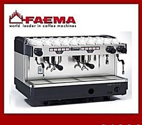 意大利进口FAEMA E98电控咖啡机/专业半自动双头咖啡机 单机