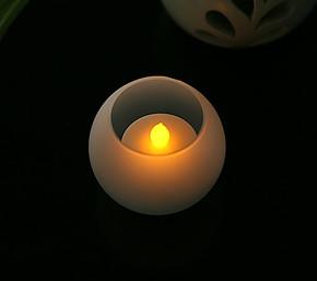LED遥控调光蜡烛小夜灯 环保LED床头灯 包邮节能夜灯 D-55T/GB