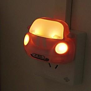 智能光控车头led感应灯 节能环保夜灯 插座灯 创意LED小夜灯35821