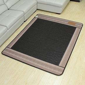 【御缘正品】玉石床垫-锗石床垫保健床垫-灰色负离子圆黑锗石