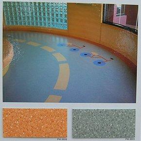 韩华 PVC卷材地板 橡胶地板 地热地板 家用地板 耐富 2.0mm厚