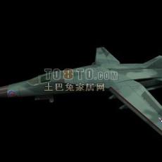 飞机-战斗机13d模型下载