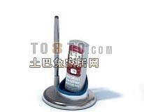 灰色IT设备3d模型下载