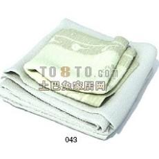 毛巾3d模型下载